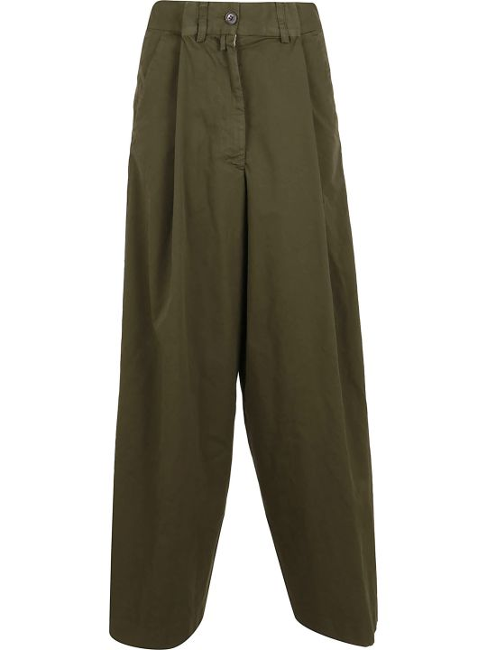 Dries Van Noten Podium 9291 W.w.pants Kaki