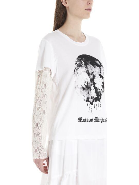 MM6 Maison Margiela 'skull' T-shirt