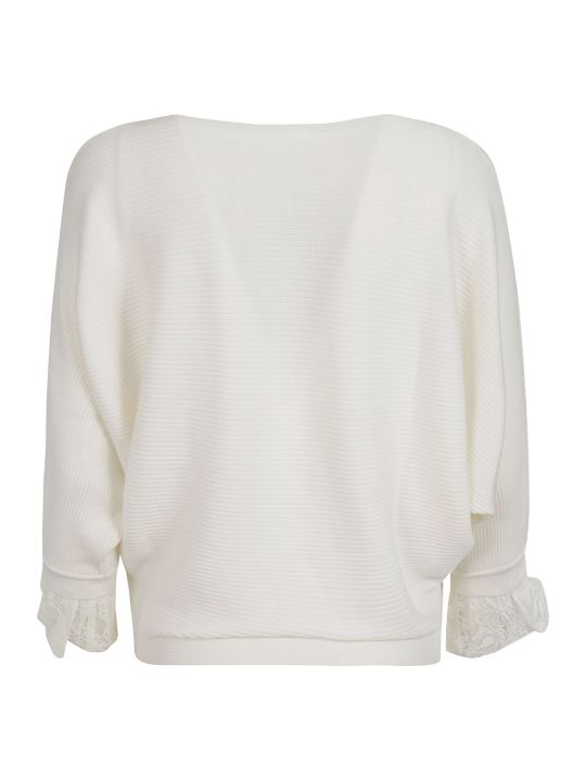 Chloé Ruffled Sleeve Sweater