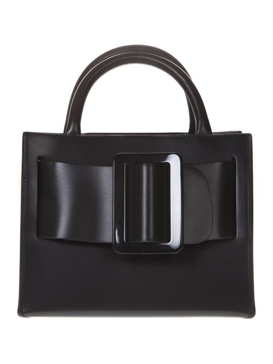 BOYY Bobby 23 Black Leather Tote Bag