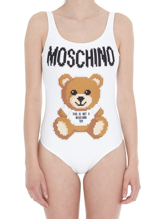 Moschino Pixel Capsule Collection Swimsuit