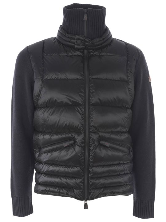 Moncler Grenoble Zip-up Padded Front Jacket