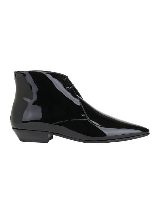 Saint Laurent Jonas Lace Up Bootie