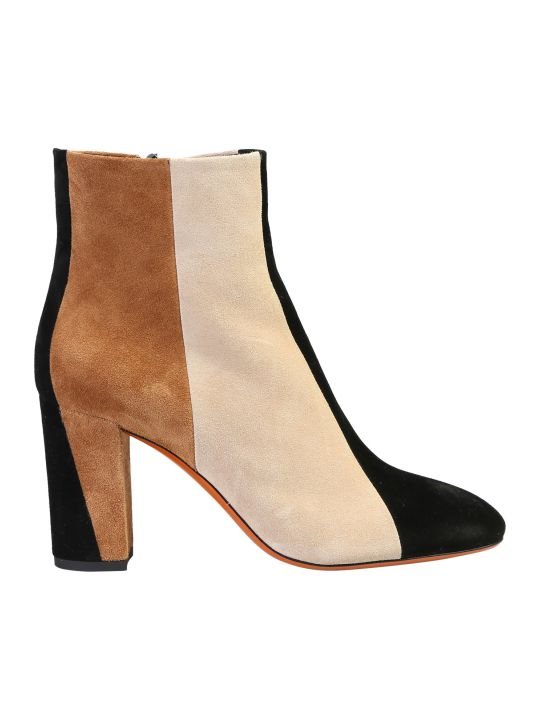 Santoni Zipped Ankle Boots