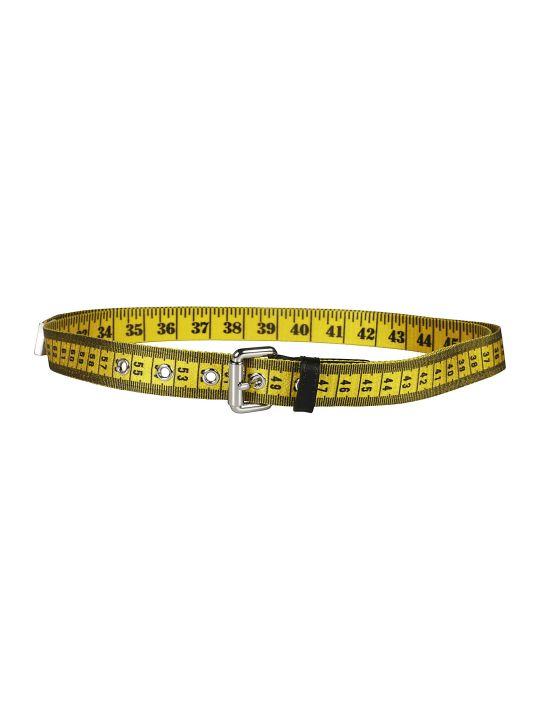 Moschino Tape Measure Belt