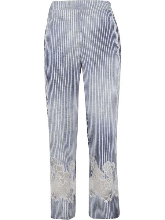 Ermanno Scervino Striped Trousers