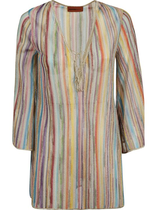 Missoni M Missoni Rainbow Striped Blouse