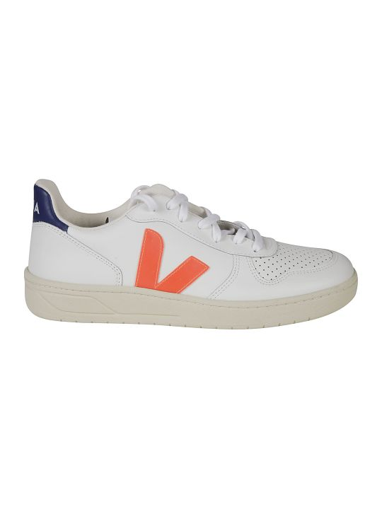 Veja Perforated Side V Logo Sneakers