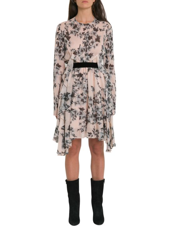 Philosophy di Lorenzo Serafini Floral Print Silk Dress