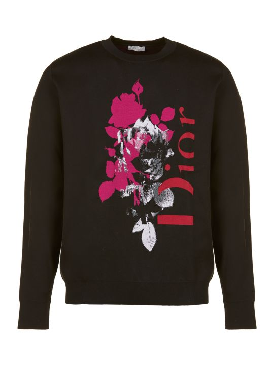 Dior Logo Print Sweater