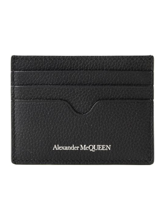 Alexander McQueen Small Grain Card Holder
