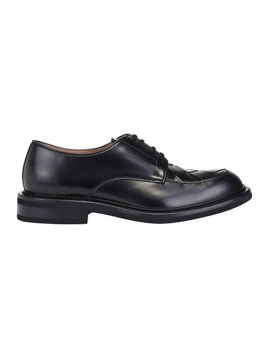 Bottega Veneta Varenne Leather Derby Shoes