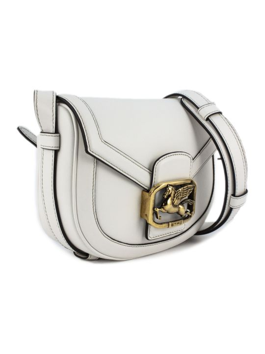Etro Pegaso Bag In White