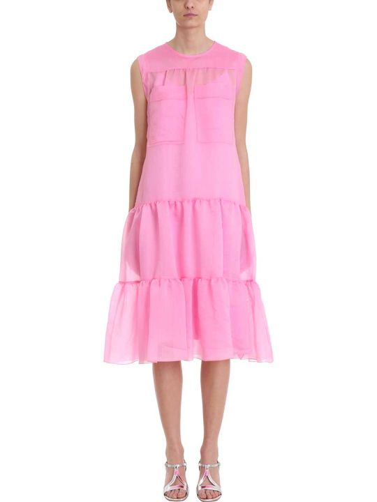 See by Chloé Tiered Sleeveless Midi Dress