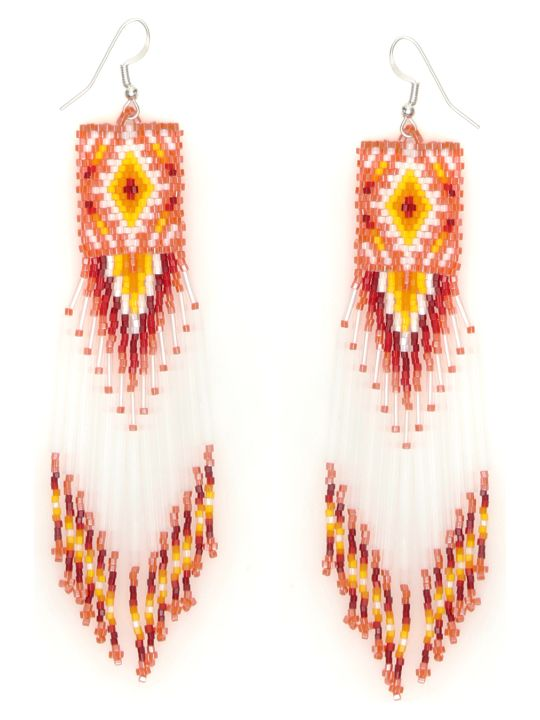 Jessie Western Zuni Chandelier Earrings