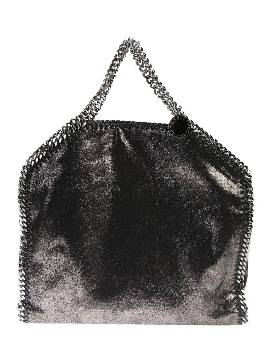 Stella McCartney Metallic Falabella Triple Chain Bag
