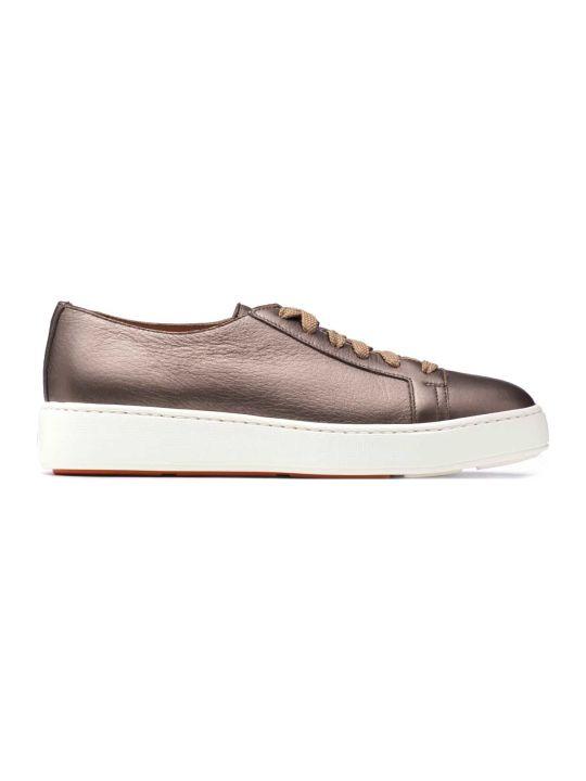 Santoni Santoni 1^ Linea Bronze Sneakers