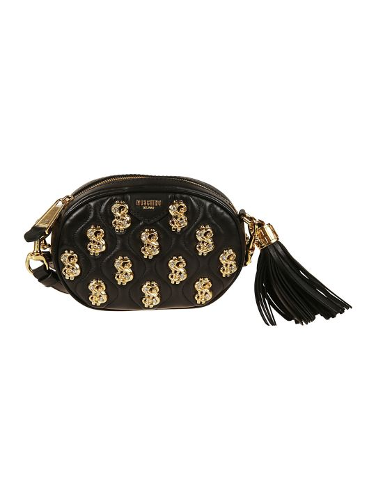 Moschino Tassel Detail Shoulder Bag