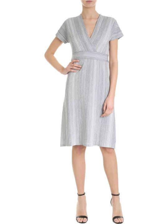 Kangra Lurex V-neck Dress