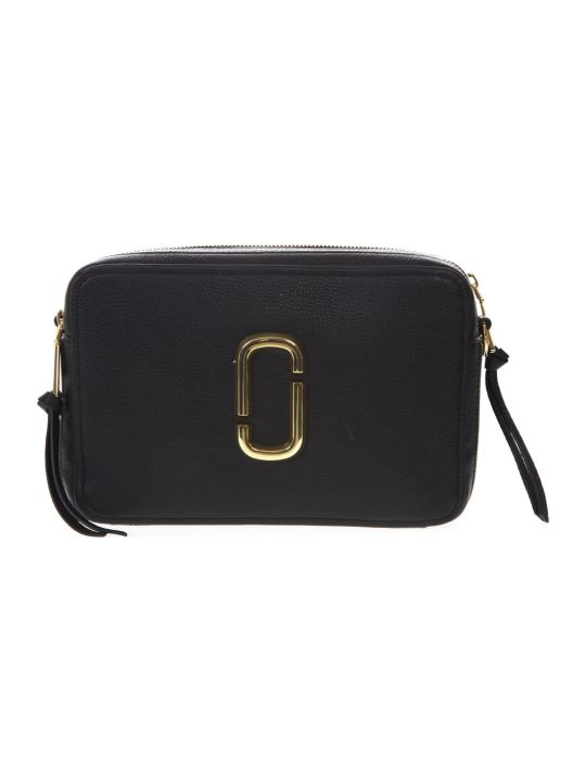 Marc Jacobs Black Soft 27 Bag In Leather