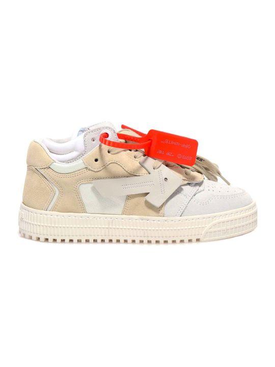 Off-White Beige Medium Gr Sneakers