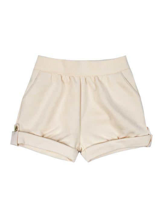 Chloé Peach Button Shorts
