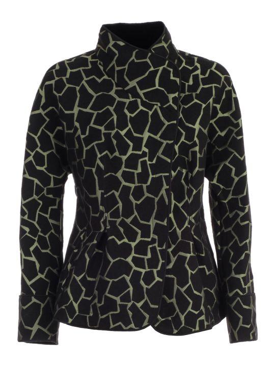 Emporio Armani Jacket Giraffe Print