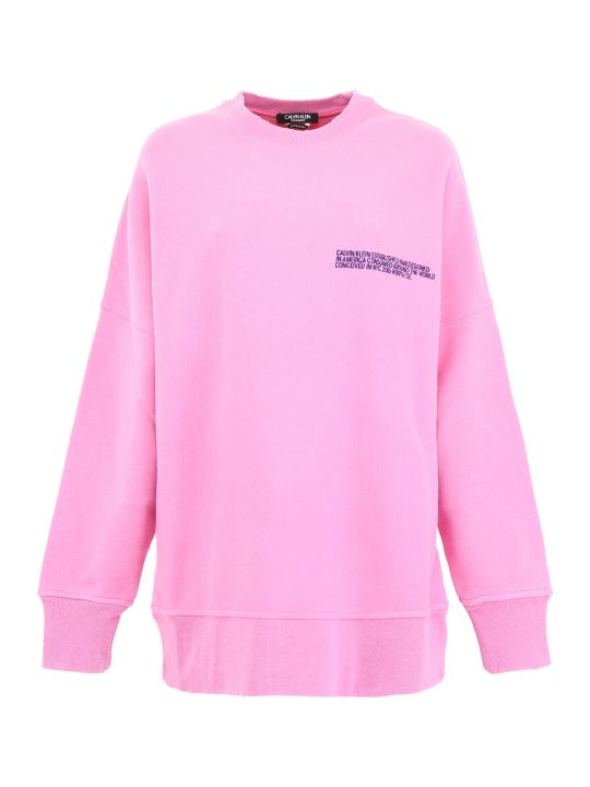 Calvin Klein Oversized Sweatshirt With Logo