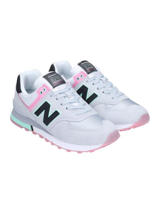 New Balance Sxr Sneakers In Black Tech/synthetic