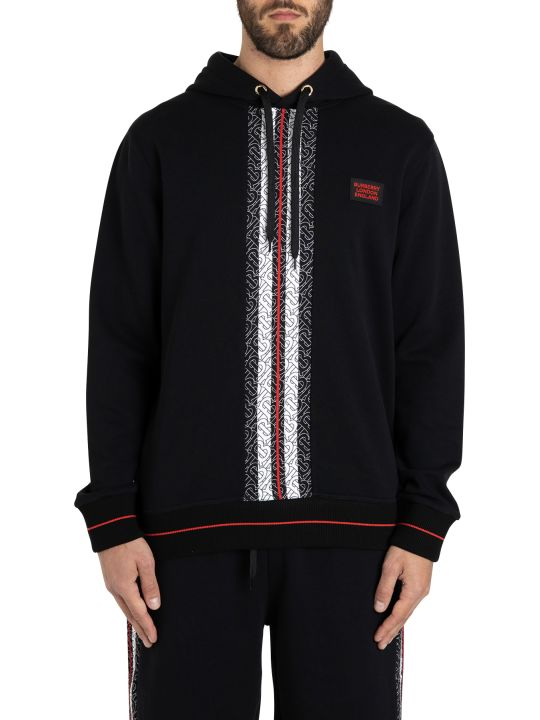 Burberry Larell Hoodie With Monogram Band