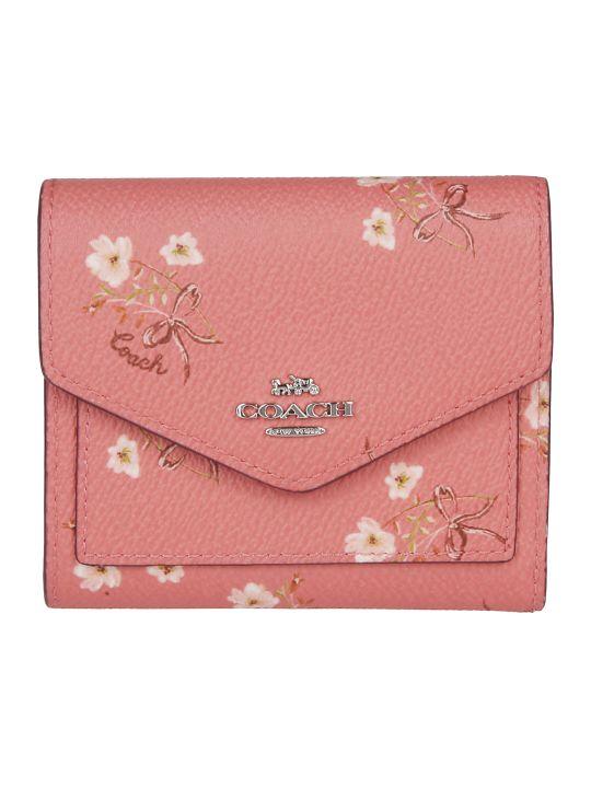 Coach Floral Print Wallet