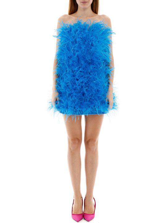 The Attico Marabou Mini Dress
