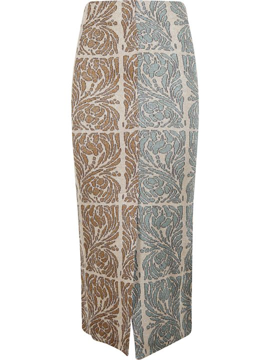 Circus Hotel Patterned Skirt