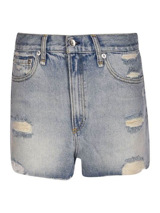 Rag & Bone High Rise Shorts