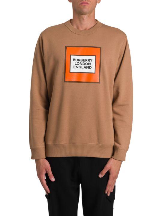 Burberry Printed Crewneck Sweatshirt