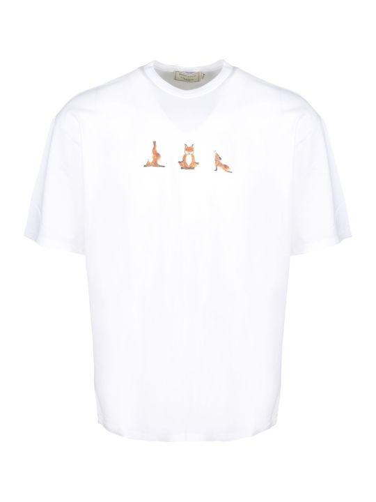 Maison Kitsuné Yoga Fox T-shirt