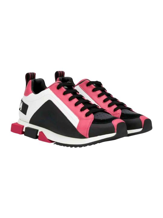 Dolce & Gabbana White Sneakers Dolce And Gabbana Kids