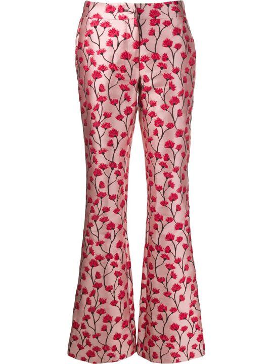 Be Blumarine Jacquard Fiore Pants