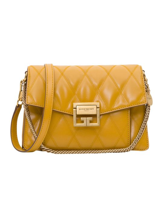 Givenchy Gv3 Small Bag In Matelassé Leather