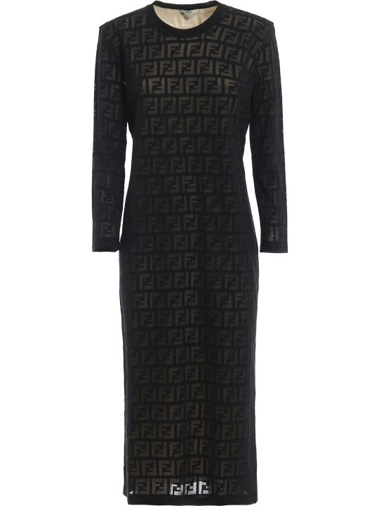 Fendi Ff Motif Dress