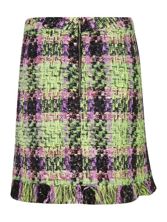 Blumarine Fringed Skirt