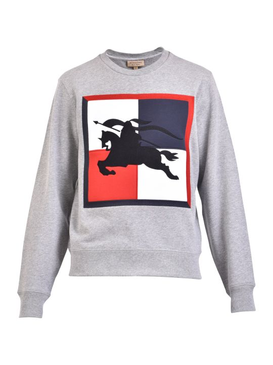 Burberry Patched Sweatshirt