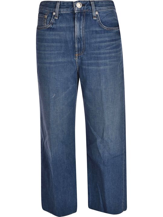 Rag & Bone Wide Leg Jeans