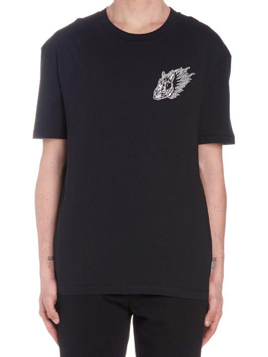 McQ Alexander McQueen 'flame Bunny' T-shirt