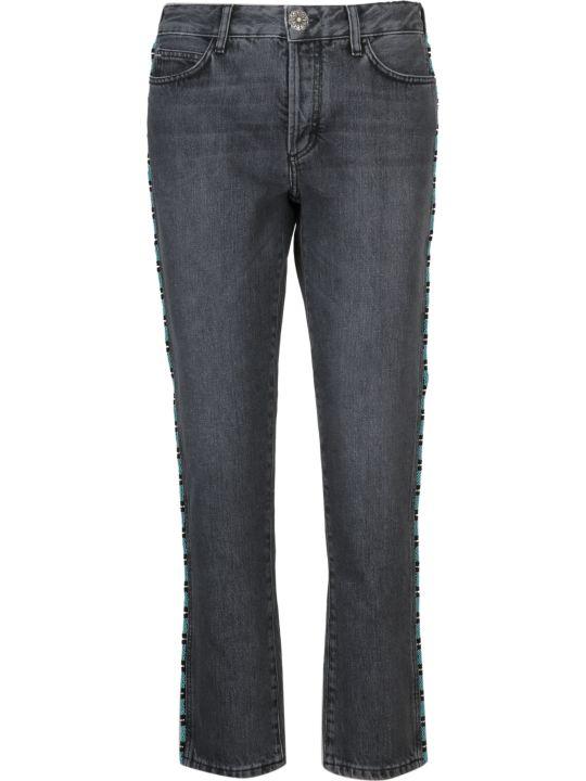 Alanui Tubular Beads Jeans
