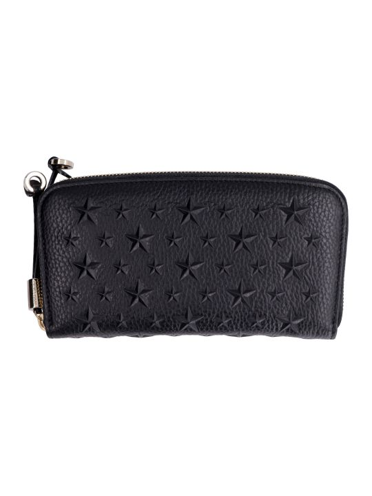 Jimmy Choo Filipa Leather Zip Around Wallet