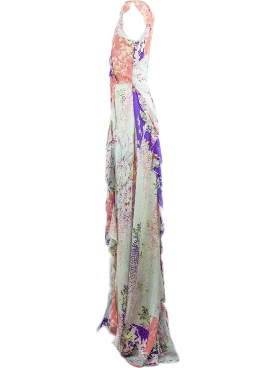 Etro Long Jersey Crepe Dress