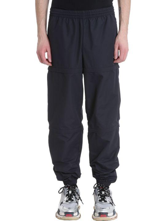 Balenciaga Black Nylon Pants