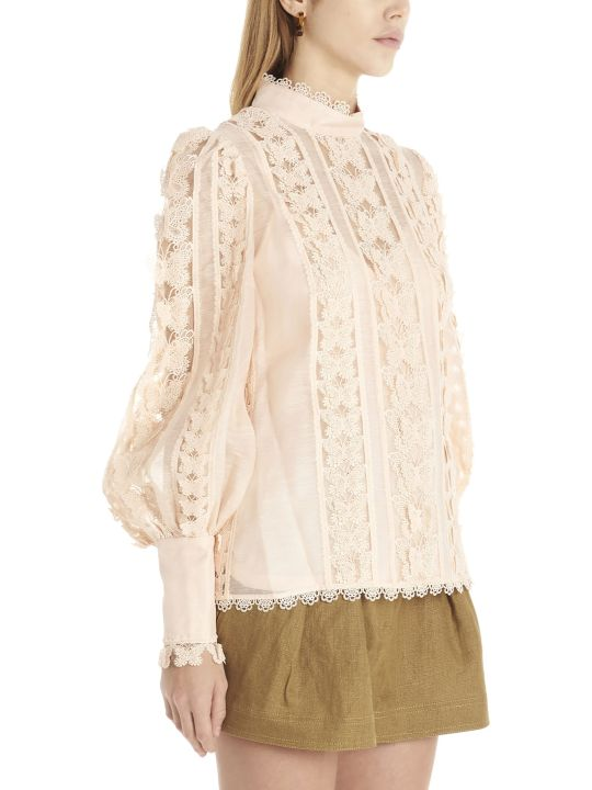 Zimmermann 'super Eight Butterfly' Blouse