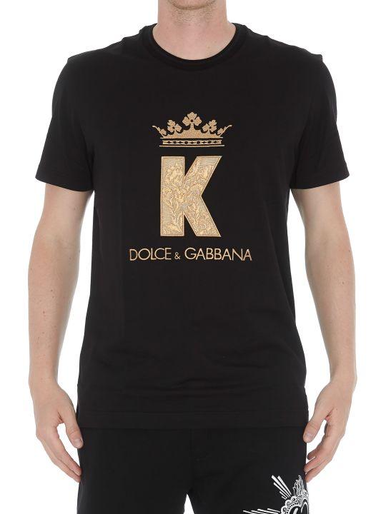 Dolce & Gabbana Patch King Tshirt